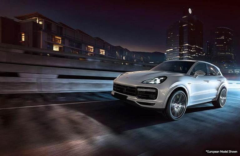 White European 2020 Porsche Cayenne