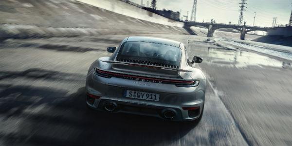 Silver 2021 Porsche 911 Turbo S