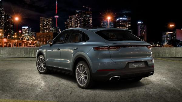 2020 Porsche Cayenne Coupe in Biscay Blue Metallic