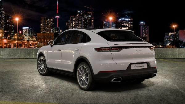 2020 Porsche Cayenne Coupe in Carrara White