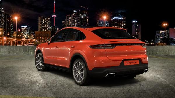 2020 Porsche Cayenne Coupe in Lava Orange