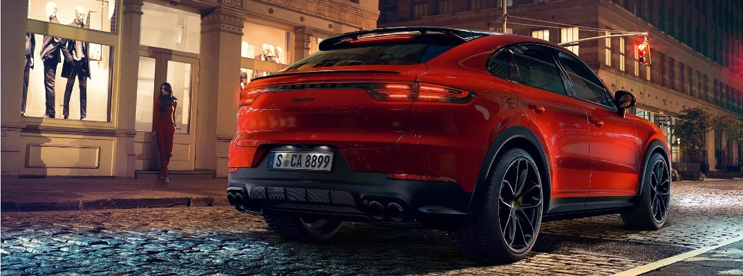 What Is the Orange 2020 Porsche Cayenne Coupe Color Called?
