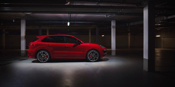 Red 2021 Porsche Cayenne GTS