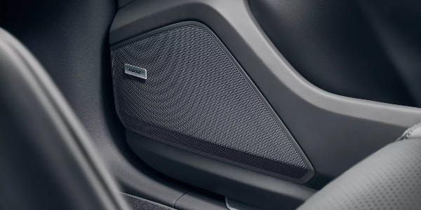 BOSE® speaker in Porsche vehicle