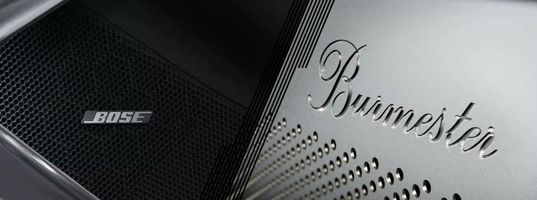 BOSE® and Burmester® speakers in Porsche models