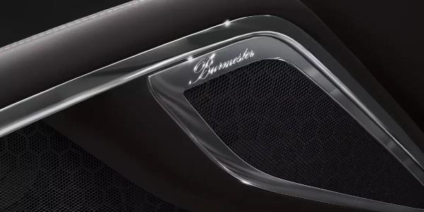 Burmester® speaker in Porsche
