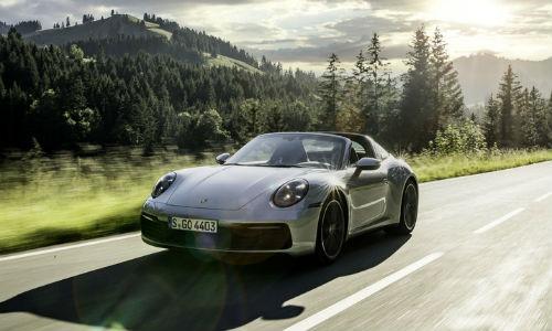 Silver 2020 Porsche 911