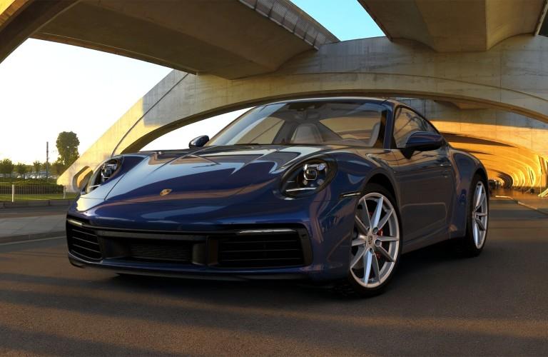 Blue 2020 Porsche 911 Carrera 4S