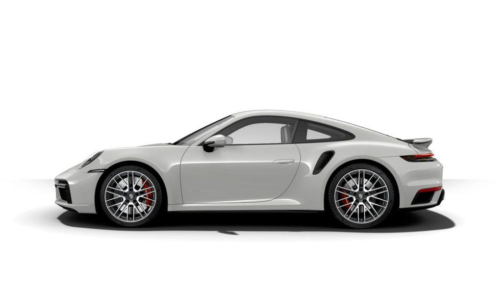 2021 Porsche 911 Turbo in Chalk