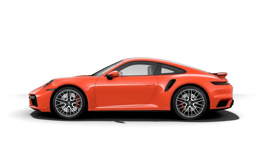 2021 Porsche 911 Turbo in Lava Orange