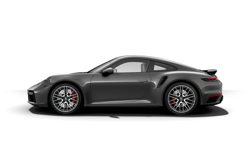 2021 Porsche 911 Turbo in Agate Grey Metallic
