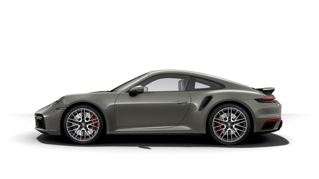 2021 Porsche 911 Turbo in Aventurine Green Metallic