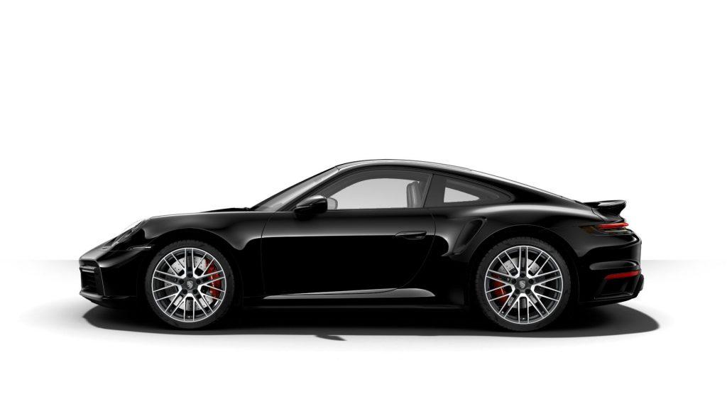 2021 Porsche 911 Turbo in Black