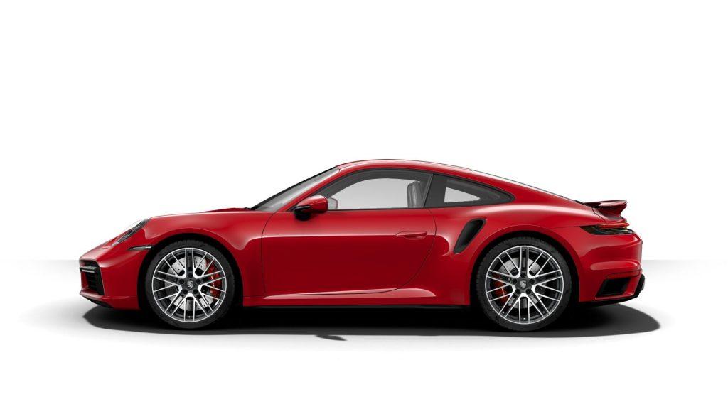 2021 Porsche 911 Turbo in Carmine Red