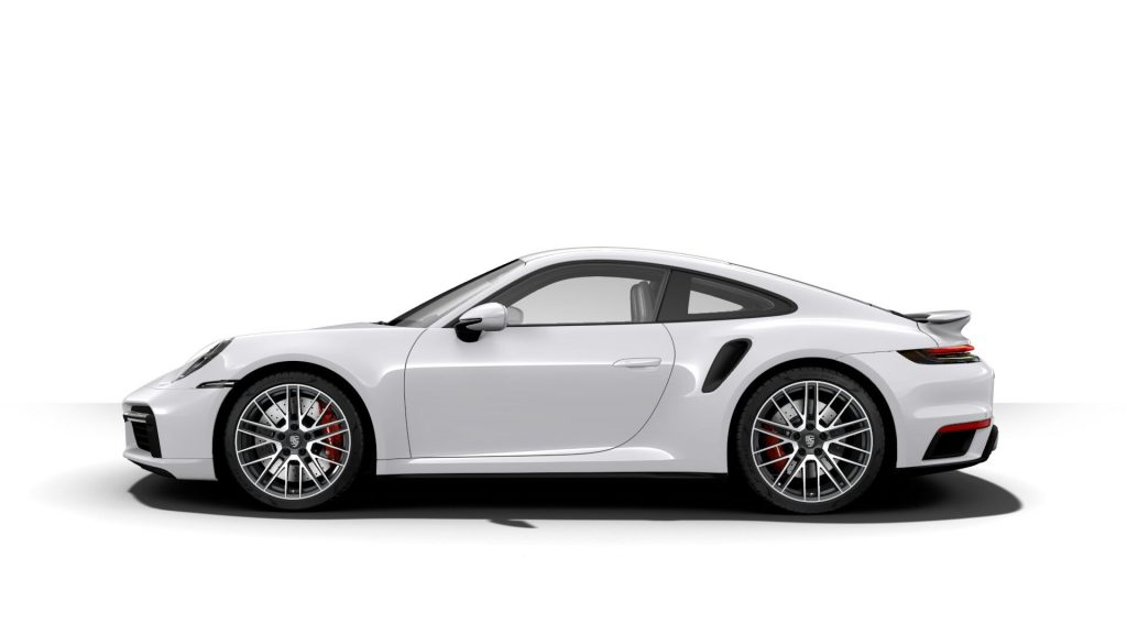 2021 Porsche 911 Turbo in Carrara White Metallic