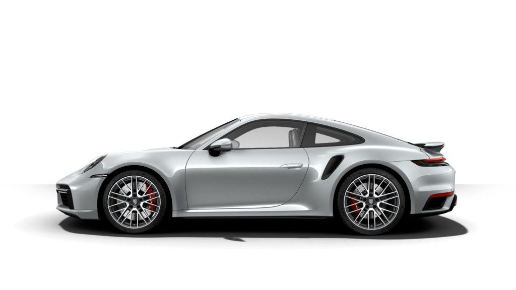 2021 Porsche 911 Turbo in Dolomite Silver Metallic