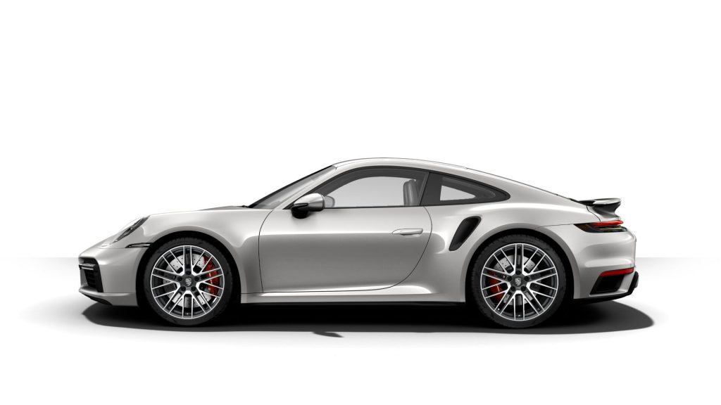 2021 Porsche 911 Turbo in GT Silver Metallic