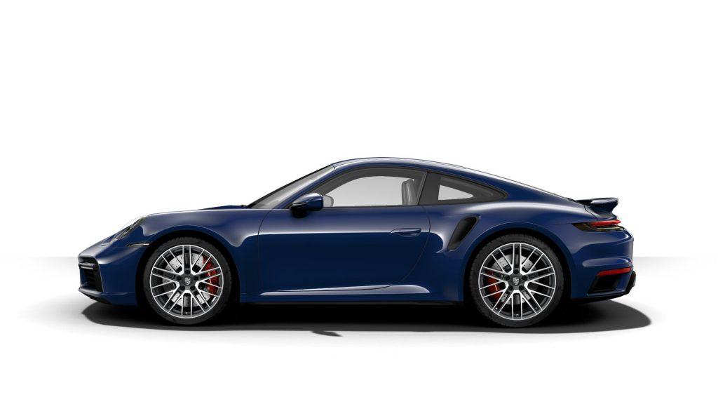 2021 Porsche 911 Turbo in Gentian Blue Metallic
