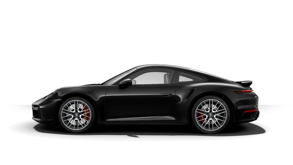 2021 Porsche 911 Turbo in Jet Black Metallic
