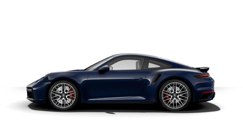 2021 Porsche 911 Turbo in Night Blue Metallic