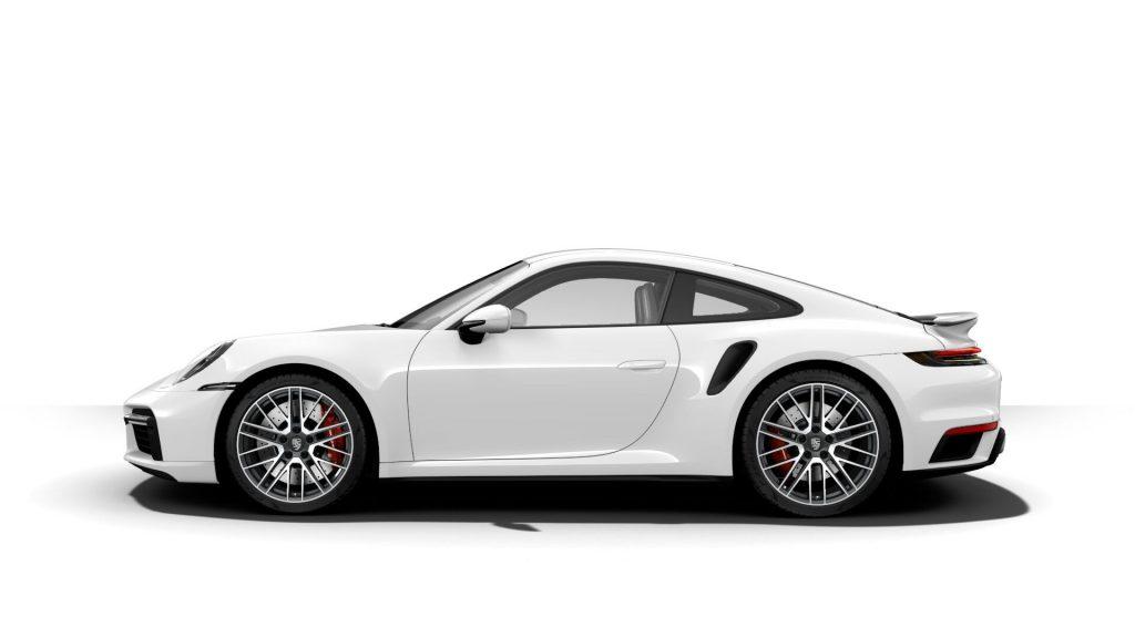 2021 Porsche 911 Turbo in White