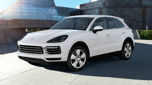 2021 Porsche Cayenne in Carrara White Metallic
