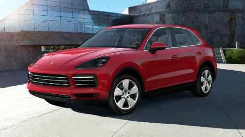 2021 Porsche Cayenne in Carmine Red
