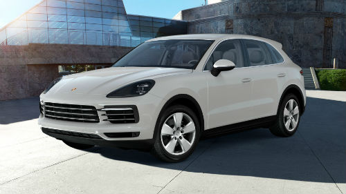 2021 Porsche Cayenne in Chalk