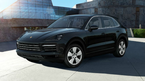 2021 Porsche Cayenne in Jet Black Metallic