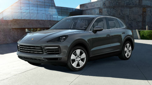 2021 Porsche Cayenne in Quartzite Grey Metallic