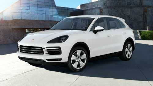 2021 Porsche Cayenne in White