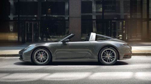 2021 Porsche 911 Targa 4 in Agate Grey Metallic