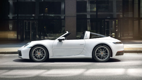 2021 Porsche 911 Targa 4 in White