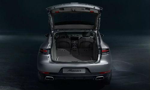 2021 Porsche Macan with trunk open