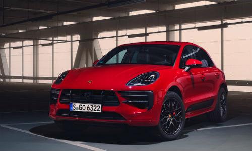 Red 2020 Porsche Macan