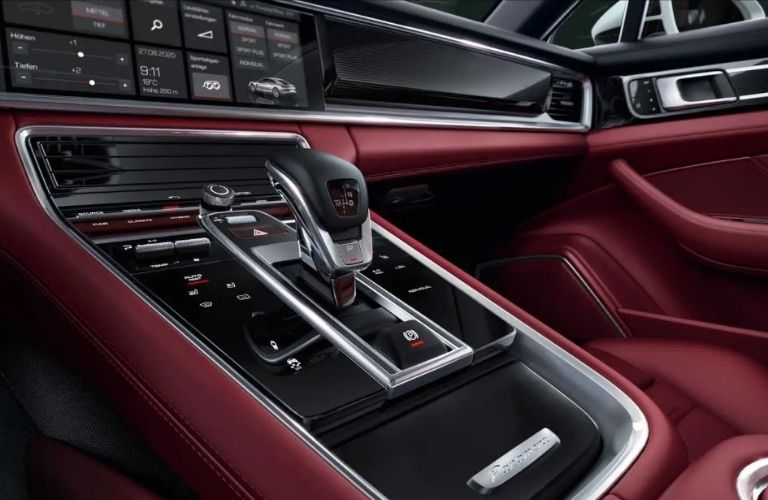 2021 Porsche Panamera Turbo S dash view