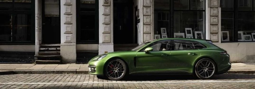 2021 Porsche Panamera Turbo S parked outside