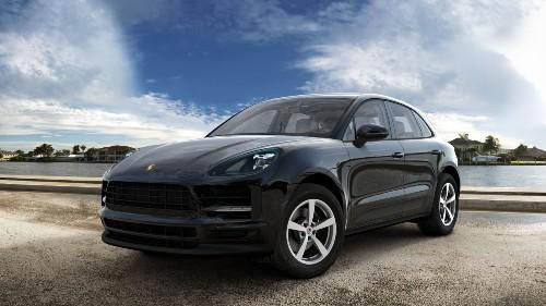 2021 Porsche Macan in Black