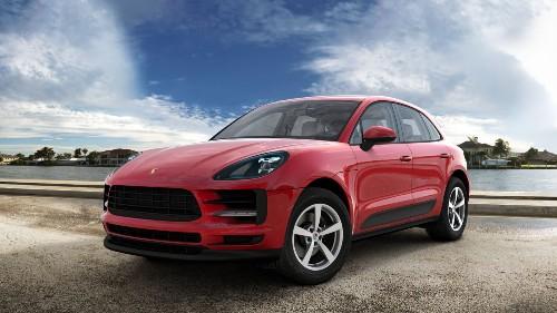 2021 Porsche Macan in Carmine Red