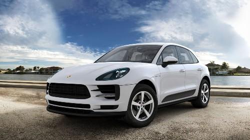 2021 Porsche Macan in Carrara White Metallic