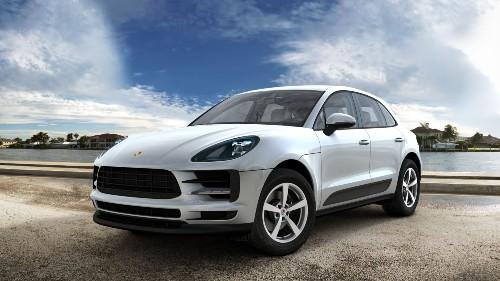 2021 Porsche Macan in Dolomite Silver Metallic