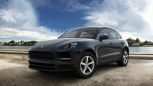 2021 Porsche Macan in Jet Black Metallic
