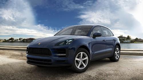2021 Porsche Macan in Night Blue Metallic