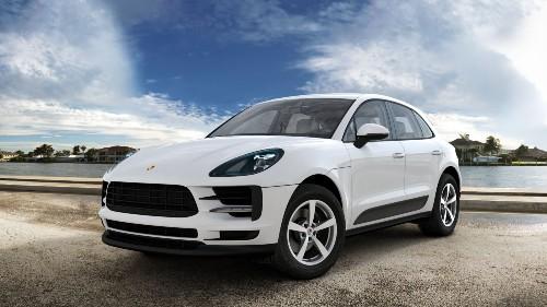 2021 Porsche Macan in White