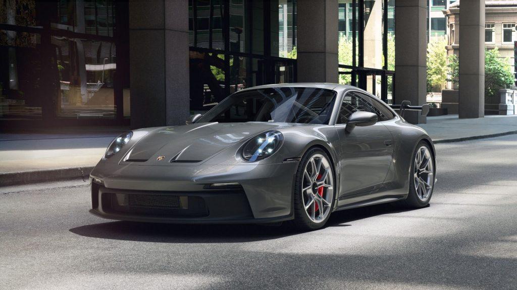 2022 Porsche 911 GT3 in Agate Grey Metallic