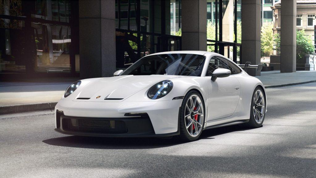 2022 Porsche 911 GT3 in Carrara White Metallic