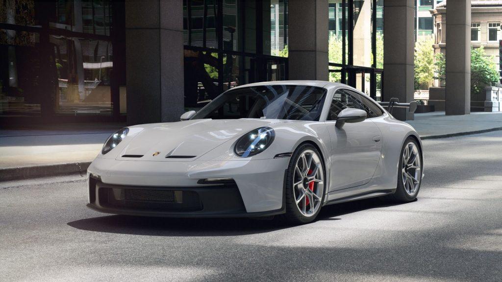 2022 Porsche 911 GT3 in Chalk