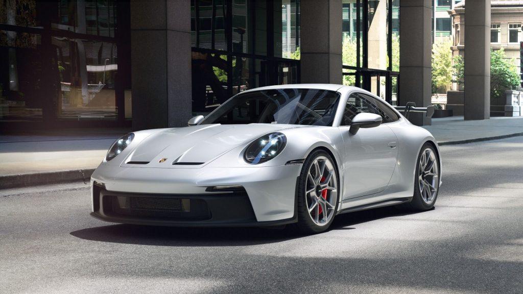 2022 Porsche 911 GT3 in Dolomite Silver Metallic