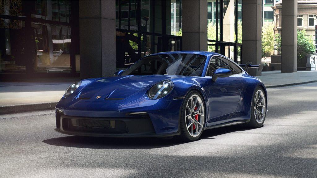 2022 Porsche 911 GT3 in Gentian Blue Metallic
