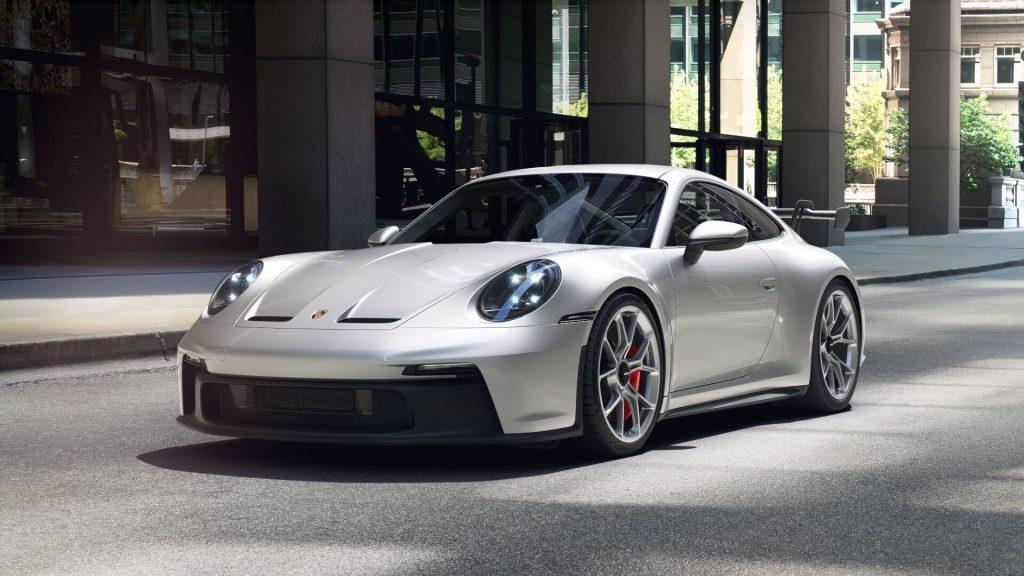 2022 Porsche 911 GT3 in GT Silver Metallic